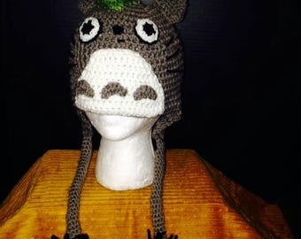 Studio Ghibli Totoro Hat with Coal Sprites - Child