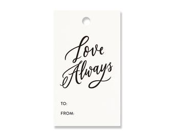 Love Always Gift Tags - Pack of 10