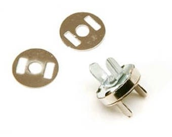 5 magnetic magnetic clasps gold 18 mm