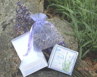 Organic English Lavender wedding favours.