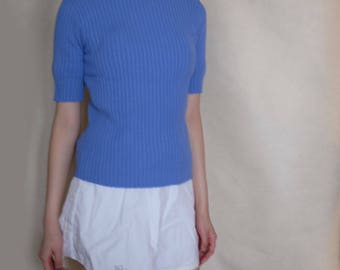 High Quality Short Sleeve 1960s Jumper