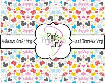 Disney Inspired Craft Vinyl and Heat Transfer Vinyl Pattern Disney 17