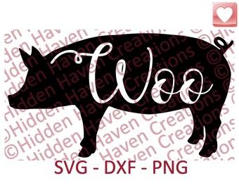 Woo Pig Sooie, Arkansas Razorbacks, Hogs, SVG, PNG, DXF, Vinyl T-Shirt Design, Decal, Silhoutte Studio, Circut, Cameo, Iron on Shirt, DiY