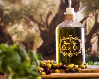 Apothecary Olive Oil Bottle