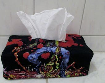 Cannibal Corpse Tissue Box Cover DIY Death Metal Decor 2