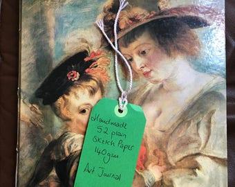 Large Vintage Rubens Art Junk Journal