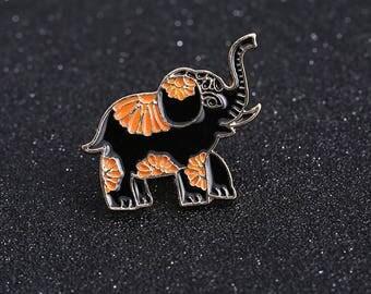 Elephant Mini Brooch pins Enamel Pin - Lapel Pin