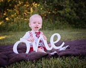 one -  photo prop for a birthday party script wooden sign, ONE sign First Birthday wooden sign, wooden number