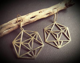 earrings *merkaba*