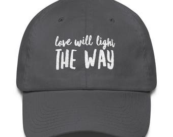 Love will Light the Way/P+L+J Cotton Cap