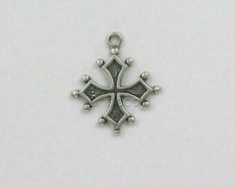 Sterling Silver Occitan Cross Charm