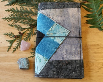 02 PATCH of NINE - Fabric Traveler's Notebook Cover