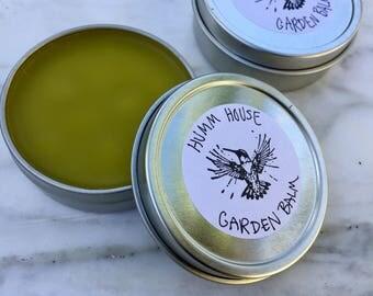 Organic Herbal Garden Balm 2oz