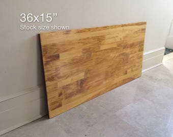 36x15 Table Top, Tabletop, Wood Table Top, DIY Table, Table Top No Legs, Desk Top, Small Desk Top, Small Wood Desk. 6 COLORS.