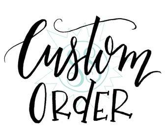"""Custom Order for E L L I E ! / """"We Loved You Before We Knew You"""" Adoption Print Package / Completed 2-18-18"""
