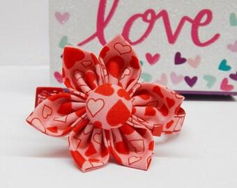 Dog Flower - My Valentine - Collar Flower