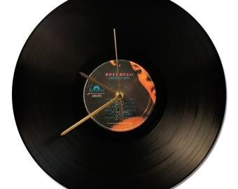 "ROXY MUSIC ""GREATEST HITS"" VINYL clock 33tours."