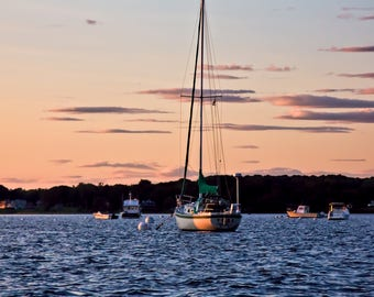 Fine Art Photography -- Harbor Sunset