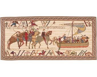 Bayeux-le-depart-de-la-flotte tapestry