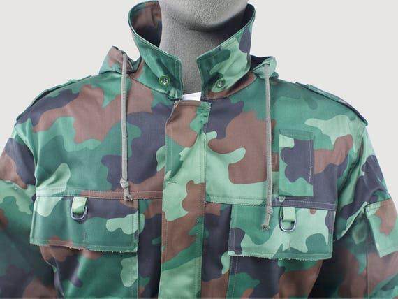 New Unissued Serbian Yugoslavian army parka jacket coat