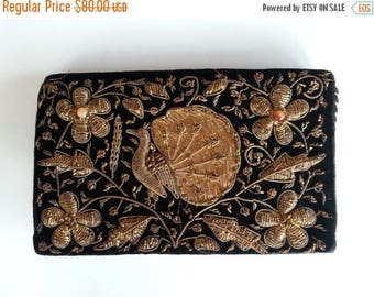 SUMMER SALE 1970s unique  handmade vintage purse// made in India//