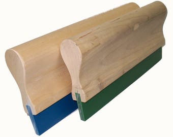 "Screen Printing Squeegee - 5""/ 70 Durometer (Blade and Handle)"