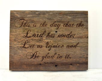 This is the Day Barnwood Sign