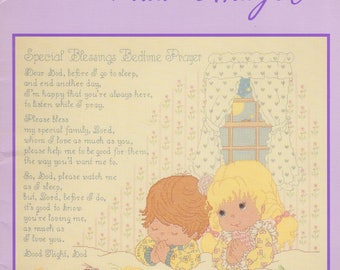 Special Blessings, Bedtime Prayer, Designs by Gloria and Pat, counted cross stitch, wall hanging, quilt, pillows