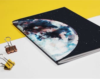 A5 *ATLAS* Printed Notebook