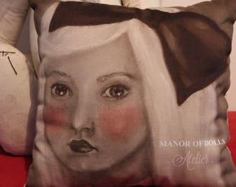 "Cushion Manor of Dolls ""AliciaFace"" workshop"