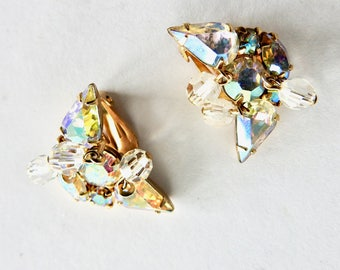 Kramer Aurora Crystal Rhinestone Earrings