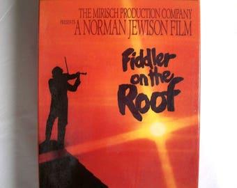 Fiddler on the Roof VHS new sealed 2 tape set 1971