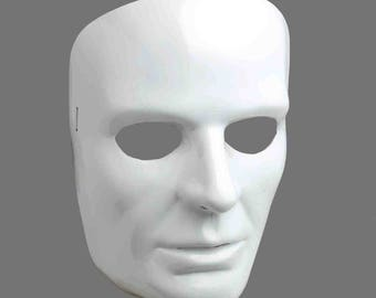 White Face Mask - Male