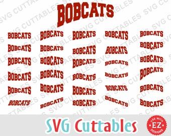 Bobcats svg, Bobcats dxf, Bobcats layouts, Bobcats cut file, EZ Layouts, Silhouette, Cricut cut file, Digital download