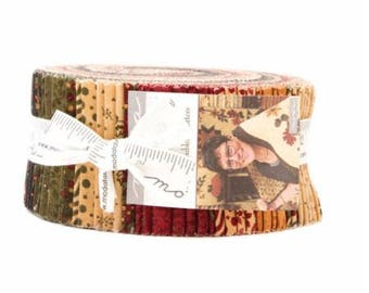 Gooseberry Lane Jelly Roll by Kansas Troubles Quilters for Moda fabrics. 9450JR