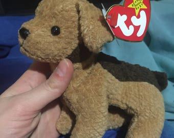Tuffy the Scruffy Puppy TY Beanie Baby