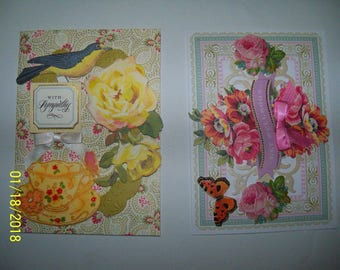 Sympathy and Get Well Soon greeting cards