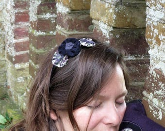 Headband Duo Navy purple collection