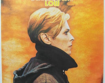 Original 1977 David Bowie Promotional Poster for the Album 'Low'