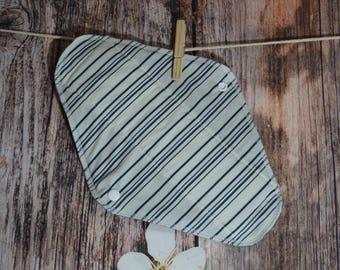 SALE Pick the length - Small/Medium/Large/XL Pad – Horizontal Stripes - cotton