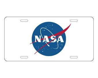NASA License Plate