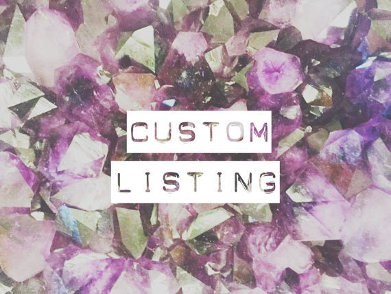 Custom listing for Leila
