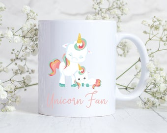 Unicorn mug, unicorn gift, unicorn accessories, gift for sister, gift for girlfriend, gift for wife