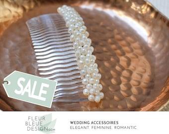 bridal hair comb | bridal hair comb pearl | wedding hair | bridal hair accessories for long hair | wedding comb