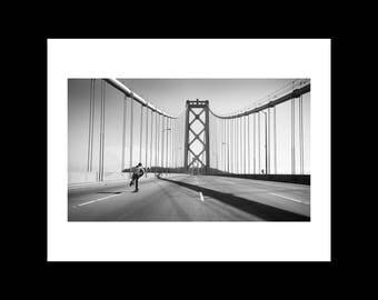 Josh Kalis Bay Bridge, San Francisco Ca. 2012