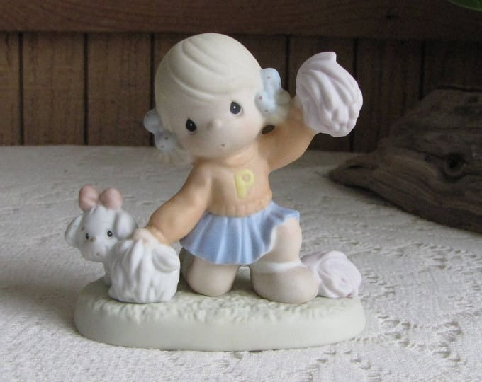 Precious Moments Its Ruff to Always be Cheery Figurine Retired