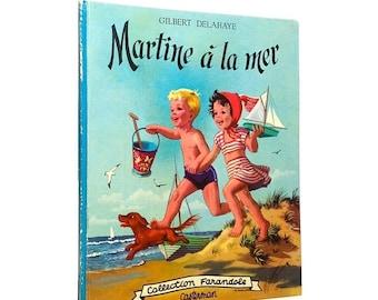 "ON SALE Vintage book ""Martine à la mer"""