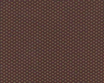 French General PETITE PRINTS by Moda in Brown 13694-14
