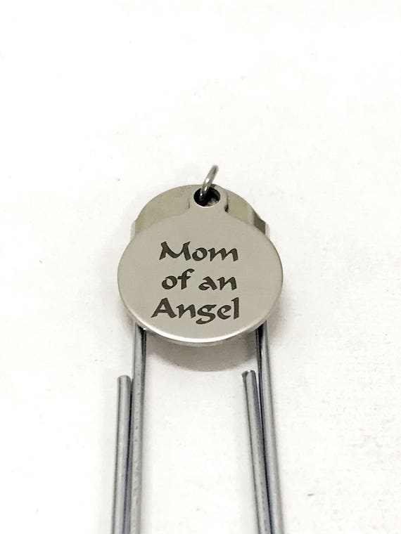 Miscarriage Memorial Gift, Mom Of An Angel Bookmark, Miscarriage Memorial Bookmark, Remembering My Angel, Child Loss Gift, Planner Bookmark