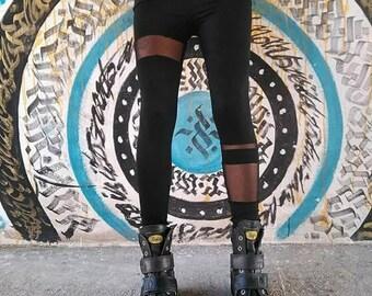 Long Leggings Black
